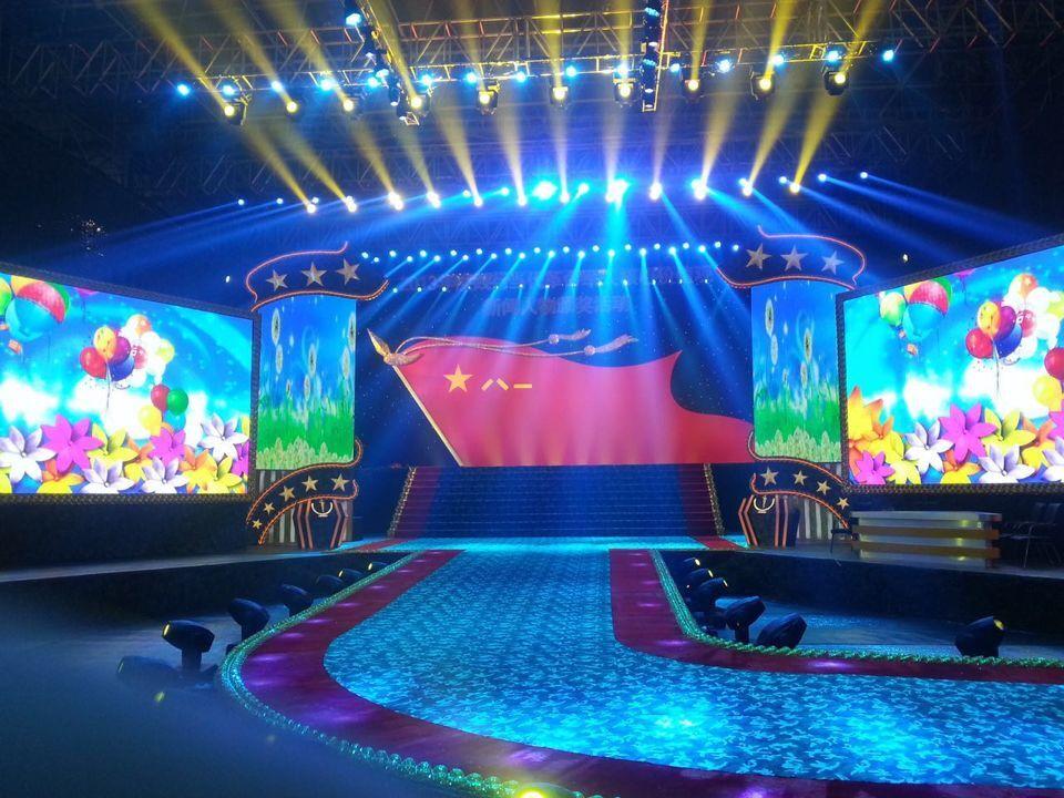 舞台演出LED显示屏租赁