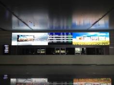 火车站信息显示屏