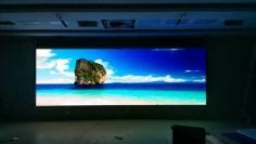 室内高清全彩小间距P1.923无缝拼接LED显示屏