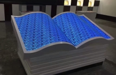 LED书形显示屏